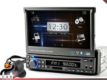 1 DIN Car Dash DVD Player RDS GPS, Bluetooth, ATV, IPod, Rearview Parking Camera(China (Mainland))