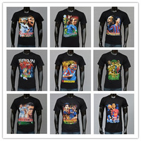 HOT!!!2014 fashion brand T-shirt man, summer football shirt printing men, leisure 100% cotton o 3 D shorts neck T-shirt