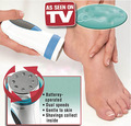 2pc/lot , 2015 hot Portable Electronic  pedicure Foot  skin callus removal kit
