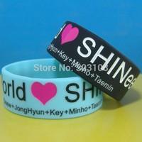 Love SHINee silicone wristband