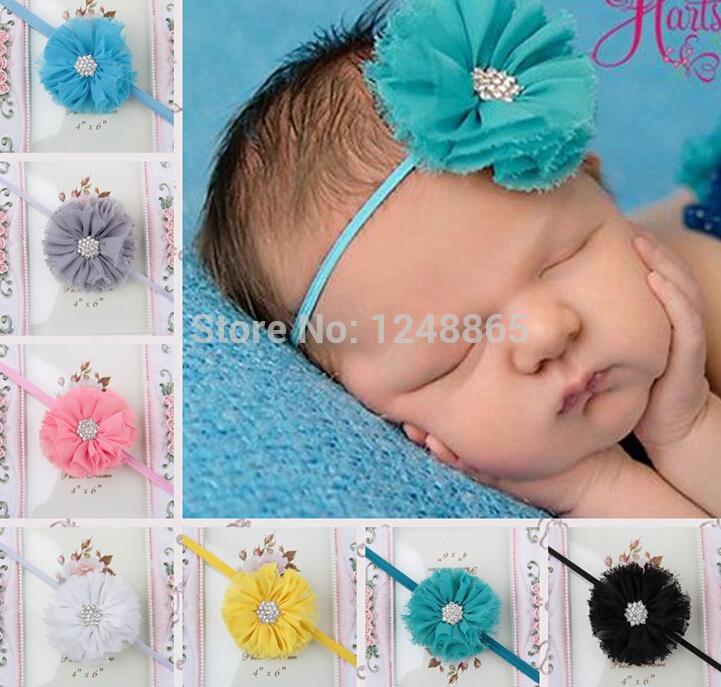 Big sale!New design pearl baby girls Headband Flowers Kids Hair Accessories Baby 10pcs/lot!!(China (Mainland))