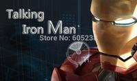Talking Iron Man / Iron Man Piggy Bank / Coin Bank + Touch Sensor USB Light