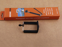 Extendable self-shoot handheld Monopod with phone attachment