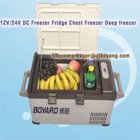12v/24v DC Compressor Walk in Solar Freezer mini cooling unit 12 volt condenser unit air conditioner portable