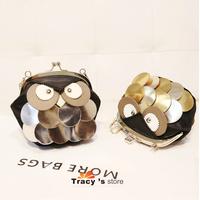 New Fashion Casual Women Carton Bags Owl Fox Shoulder Cross-body Handbags Lady Messenger Female Clutch Bags