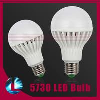 5pcs/Lot E27 220V 230V 240V 3w 5w 7w 9w 10w 12w 15w SMD 5730 Led Bulb Light Energy Saving Spotlight Lamp