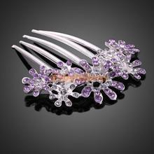 popular purple hair comb