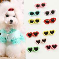 dreambows Pet Sunglasses Hairpin 11019 Dog Hair Clip Pets Head Flower 10 Pcs / Lot