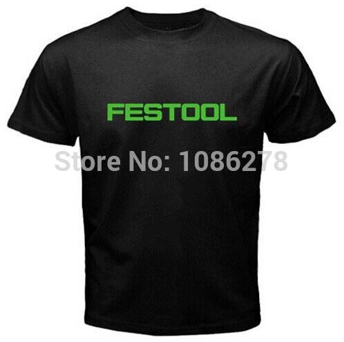 2014 New fashion man/woman t shirt Festool Power tool Hand Tools Jigsaws Circular saws Shirt design print college cotton men tee(China (Mainland))