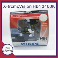 3400K HB4 12v very fresh light bright yellowish white car distance light bulb HB4 German imports Freeshipping 100% Original