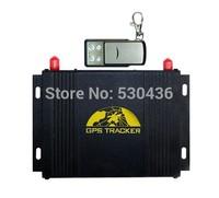 tk 107 b Quad band Vehicle GSM GPS Tracker GPS107B Support RFID Camera OBDII LED Handset Accident sensor Adsscreen no retail box