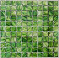 Green Shell Mosaic Tiles, Natural Shell tiles, Naural Mother of Pearl Tiles, bathroom wall flooring tiles