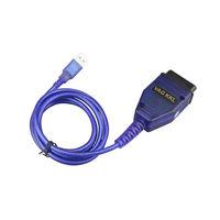 VAG 409.1  USB OBD II 2 Cable Car Diagnostic Scanner Tool