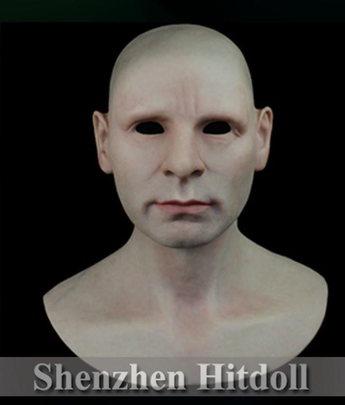 [SF-N5] realistic silicone masks masquerade masks for men full face halloween mask free shipping(China (Mainland))