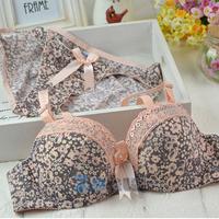 Hot sales cotton bra underwear rural flower Girls underwear bra set of type restoring ancient Free&DropShipping