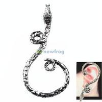 Fashion Retro Gothic Punk Style Ear Cuff Snake Ear Hook for Women Girls S7NF