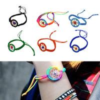 1PC Fashion Leather Cute Charm Campanula Dream Catcher Bracelet  Freeshipping&Wholesale Alipower