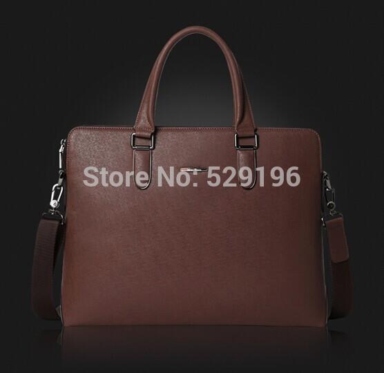 Travel men's bags 100% Genuine Famous Brand Real Cowhide Leather Shoulder bag Huge Tote men's Handbag Messenger Briefcase 360kk(China (Mainland))
