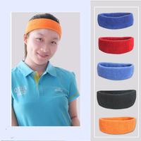 Best Head Sweat Band Sports Gym Yoga Volleyball Basketball Tennis UNISEX MENS WOMENS ,Red Blue Orange Black Cotton Wholesale