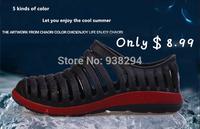 2014 Hot 5 colors Summer Men slippers beach shoes the trend of personalized flip-flop sandals fashion flip flops slip-resistant
