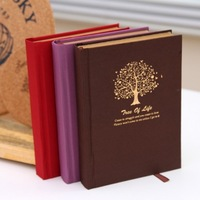 BF020 free shipping Fashion Retro kraft paper hardcopy book A6 notebook diary book 14.5*10.5*2cm
