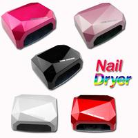 Popular Nail Art Lamp Care Machine CCFL 36W LED Light Diamond Shaped Best Curing Nail Dryer for UV Gel Nail Polish EU Plug