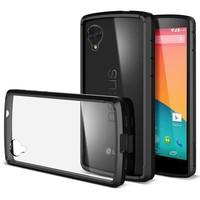 Hot selling Ultra Hybird Crystal Clear SPIGEN SGP Case For LG Google Nexus 5 E980 TPU Transparent slim soft Back Cover FLM03892
