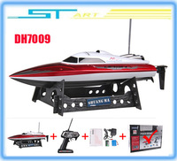 Free shipping RC Boat Double Horse DH 7009 boat  high speed racing 35CM boat  DH7009 child gift gift