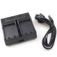 electronic 2014 new Dual Channel Battery Charger for Nikon EN-EL14 D3100 D3200 D3300 D5100 D5200 D5300 P7100 + tracking number