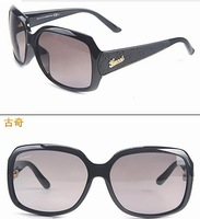 2014 Fashionable sunglasses female star sunglasses / Gradient wild big box sun sunglasses / 3622