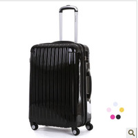 """20"""" inch Business Man Women trolley suitcase luggage rolling spinner wheels ABS PC traveller case box Pull Rod trunk"""