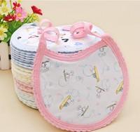wholesale 100 pcs /set fabric babies' bib mix color