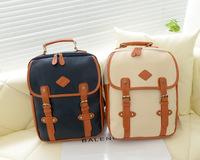 2014 kerean fashion women backpack preppy school bag canvas casual backpack