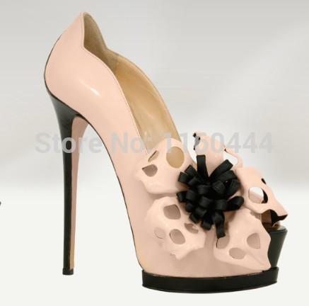 flower platform gladiator slip-on women sandals women shoes high heels shoes women sandals for women free shipping(China (Mainland))