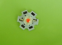 10pcs 1W High Power  Led  beads watermelon red source of festival lights with 20mm Star PCB