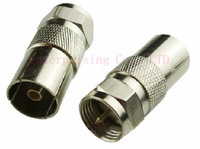 F revolution RF mother (9.5mm) PUSH-ON QUICK F-CONNECTOR , Free Shipping