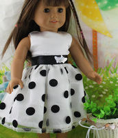 "Free shipping!!! hot 2014 new style Popular 18"" American girl doll clothes/dressb29"