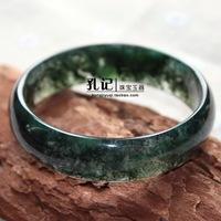 Aquatic plants natural tencel agate bracelet