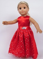 "Free shipping!!! hot 2014 new style Popular 18"" American girl doll clothes/dressb21"