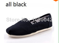 China post shipping canvas shoes women and men flats navy olive ash ivory red black classic canvas shoes
