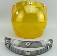 H A R  LEY motorcycle helmet windshield jet helmet visor and open face helmet glass vintage visor