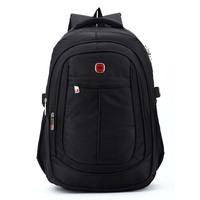 Vintage Swiss business laptop backpacks bags ; waterproof outdoor sport zipper backpack ,men notebook computer mochila rucksack
