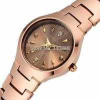 Slim woman luminous waterproof quartz watch