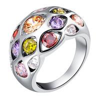 Free Shipping, 2014 New Hot AliExpress silver rings, fashion crystal jewelry women jewelry wholesale