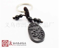 Wood carvings, animal motifs snake, car key parts,hand carved wood animals,ebony car decoration