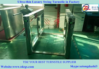Subway turnstile,electronic turnstile for disabled access