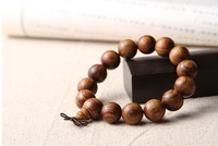 Fashion sandal wood bead bracelet, Chinese souvenir, men's bracelet, sandalwood carving