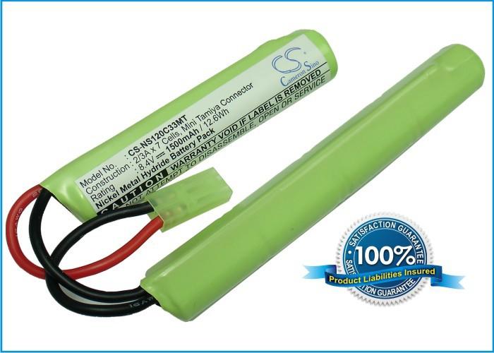 Discount RC, Airsoft Gun Battery For Toys Ni-MH Airsoft Guns Batteries Mini Tamiya Connector CS-NS120C33MT Free Shipping(China (Mainland))