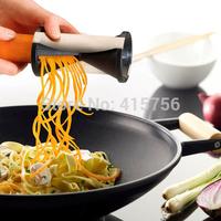 Free shipping 100sets Spirelli Grater Vegetable Spiral Slicer Vegetable & Fruit Slicer Twister World Cuisine Vegetable Cutter