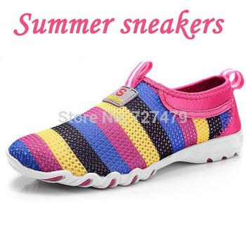 Топ-моды 2014 женская лето работает кроссовки спорт ленивый туфли размер 35 - 40 ...